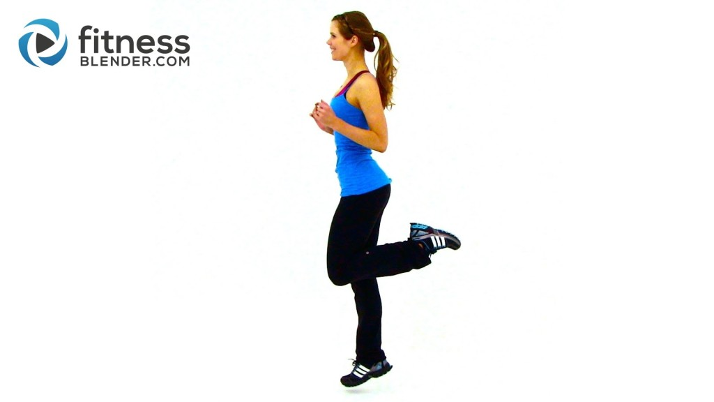 HIIT Workout for Fat Loss - FitnessBlender.com's At Home HIIT Workout Program for Weight Loss - High Intensity Interval Training
